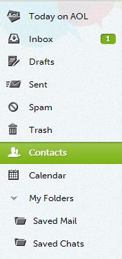 Finding the Contacts Icon