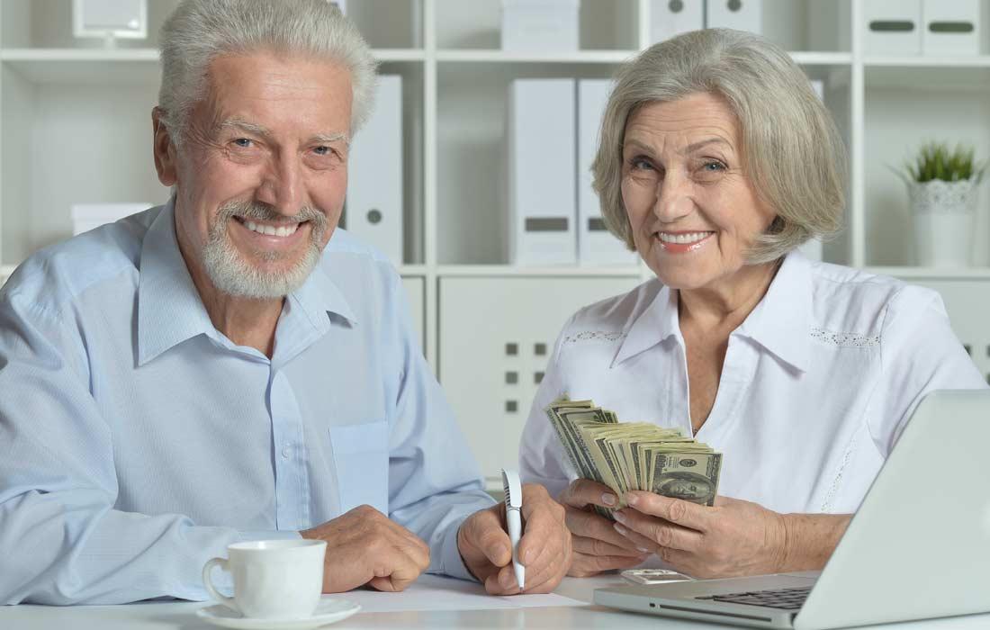 rich couple