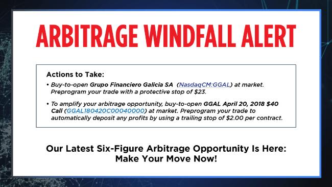ArbitrageWindfallAlert
