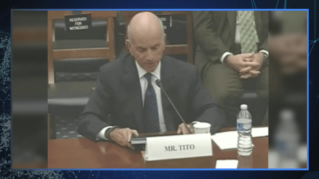 Tito Testifying to congress