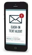 Cash in Alert phone