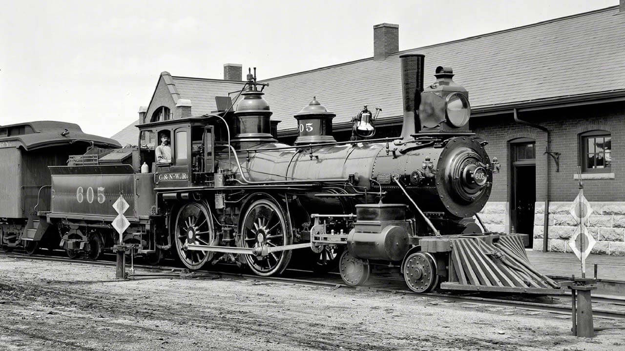 Image of old train