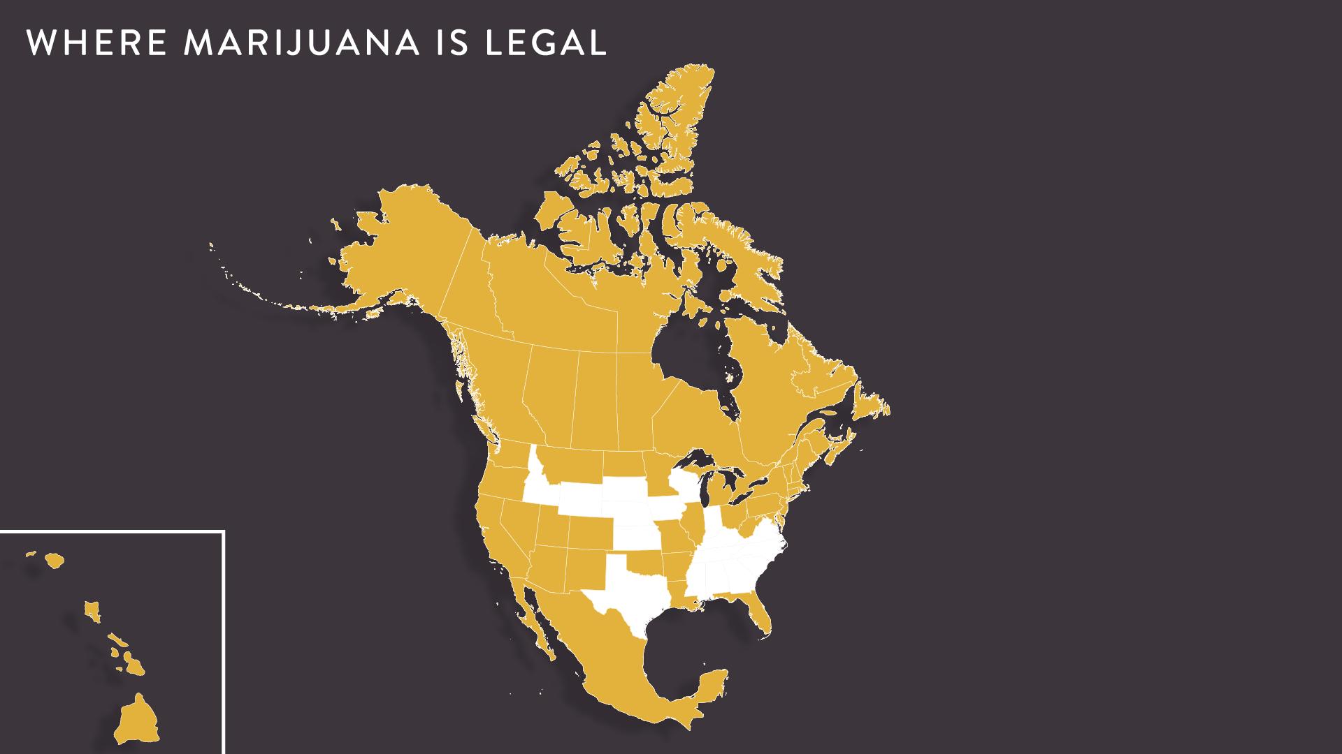 Where Marijuana is Legal