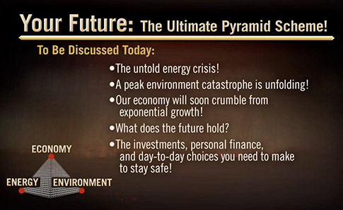 Your Future: The Ultimate Pyramid Scheme