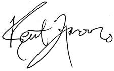 Kent Moor's signature