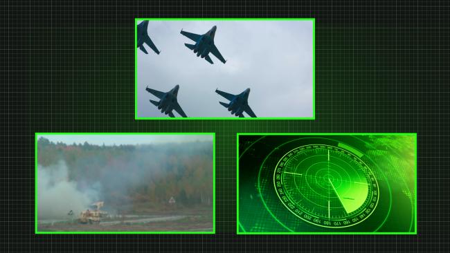 Air Flight Conrtol Systems, missle guidance tech, radar tracking devices b-roll